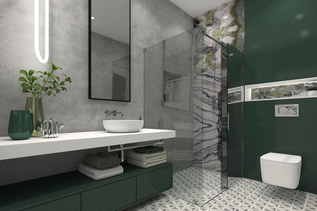 Bezručova Residence – Kúpeľňa