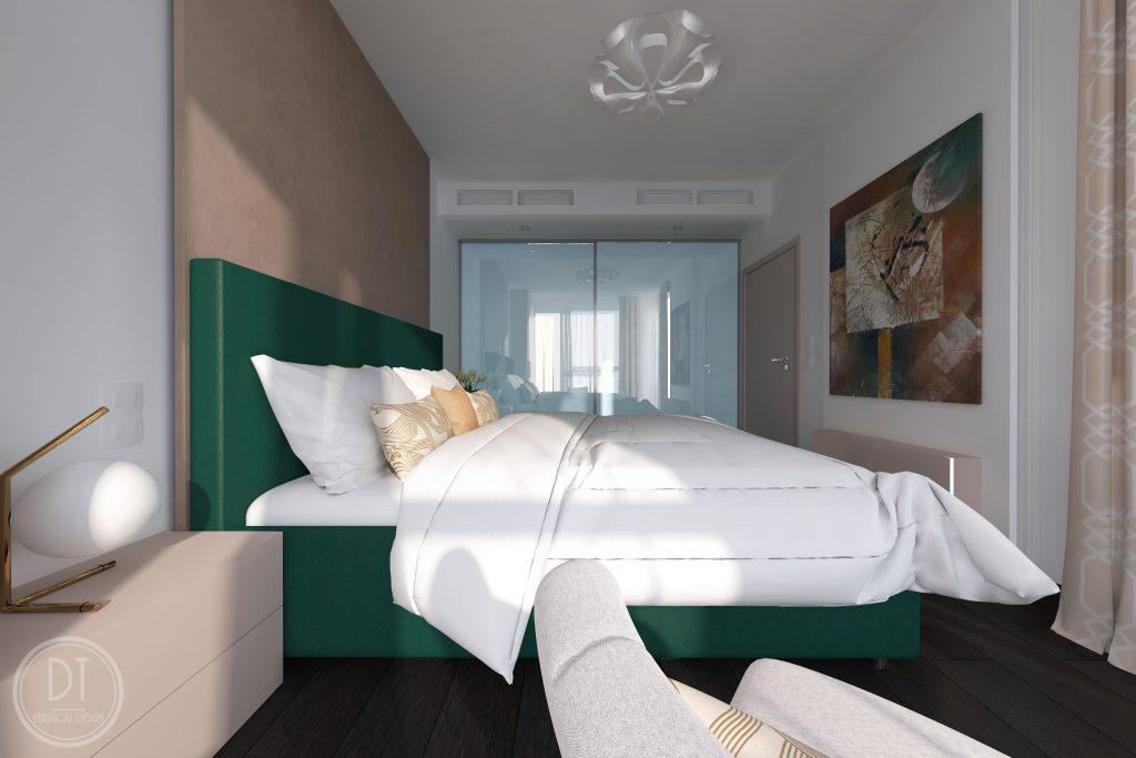 Spálňa – 2 izbový byt
