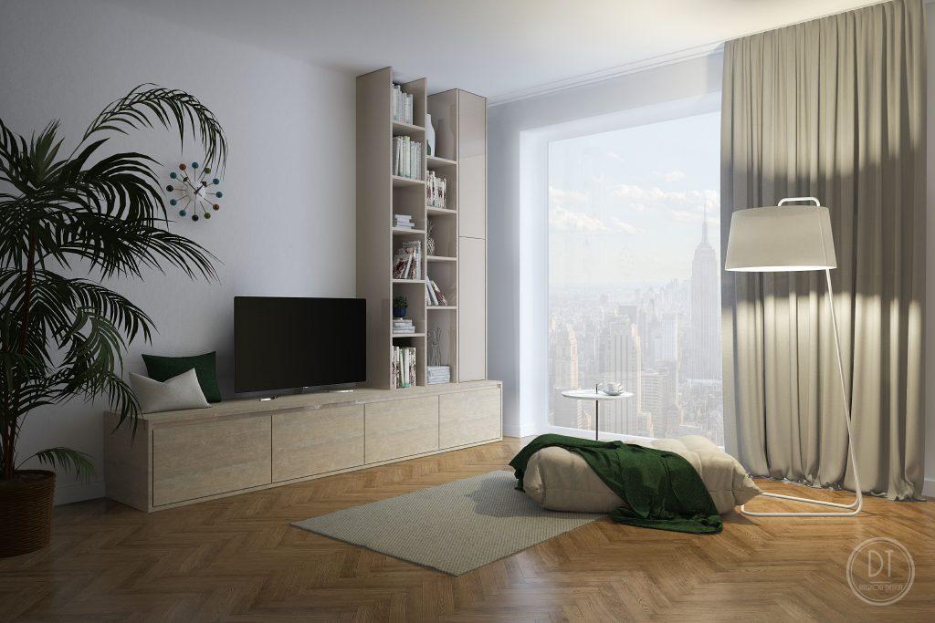 Obývačková zostava atyp