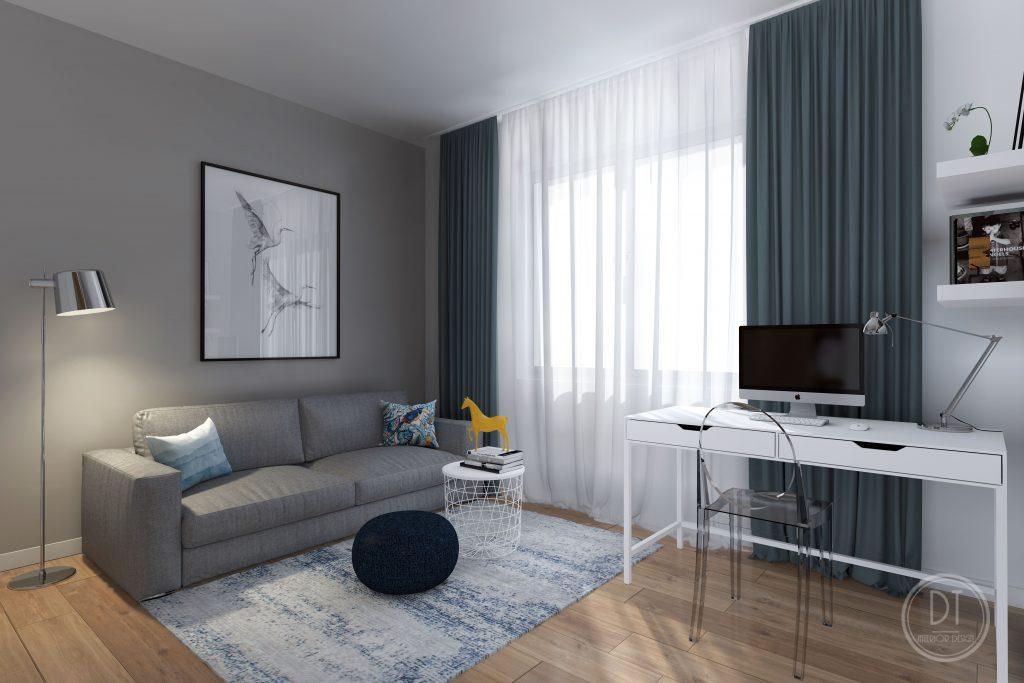 3 izbový byt Pracovňa