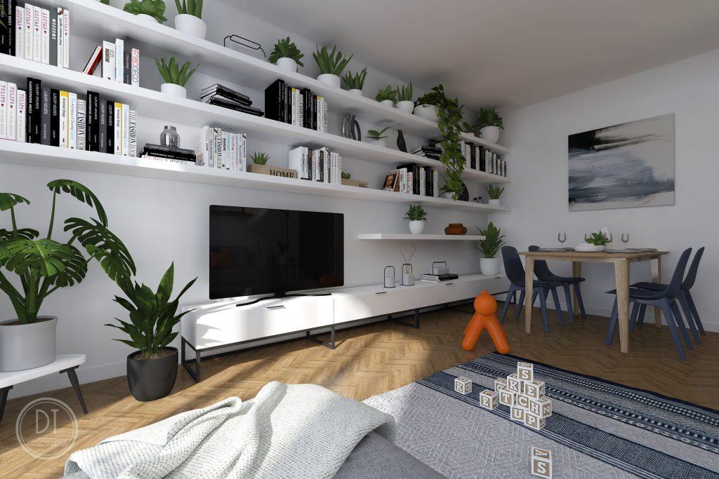 Redizajn obývacej izby